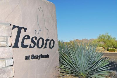 Tesoro @ Grayhawk villa location adjacent to Raptor & Talon Grayhawk Golf Course