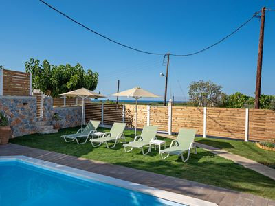 Photo for Pelagias Villa in Kavros with private swimming pool
