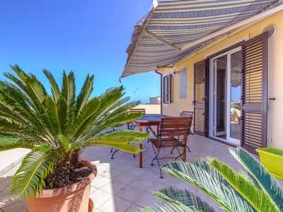 Photo for CaseSicule: Cappero, Sea View Apartment with Terrace, Beach 50 m, Wi-Fi