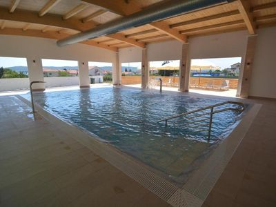 Photo for Rubinić A12, 200m to the beach, indoor heated pool, 4 people, free WiFi,parking