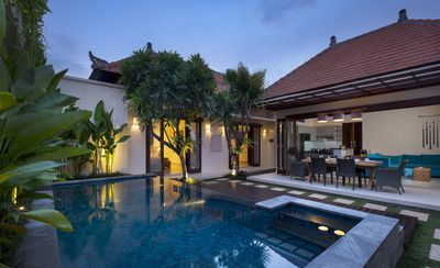 Photo for Secluded Villa While Close to Central Sanur, Walk Distance to Karang Beach