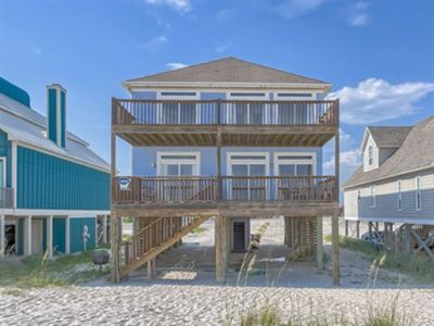 Photo for Gulf Front Beach House, Gulf Shores, AL