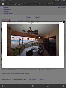 Photo for Two bedroom condo - right at the beach