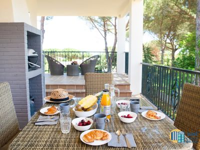 Photo for Casa Pinedeta with air conditioning situated in Calonge