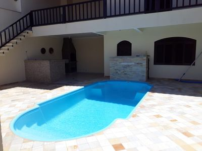 Photo for House with pool, barbecue and hot tub 400 meters from the beach