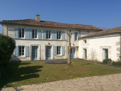 Photo for Beautiful French Country house in the Cognac region, sleeps 8