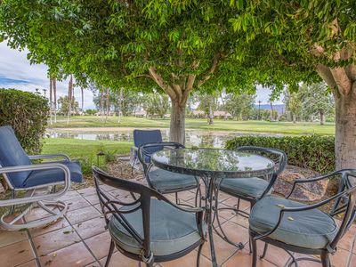 Photo for Charming, dog-friendly, golf course condo w/ shared pool, pool spa, & tennis
