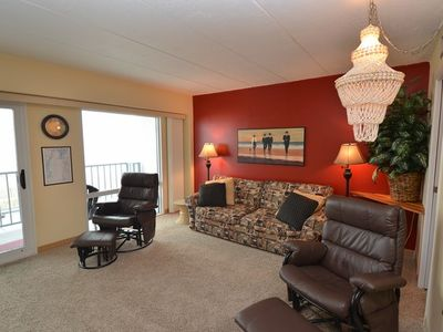 Photo for Ocean Front Studio Condo on the Rehoboth Beach
