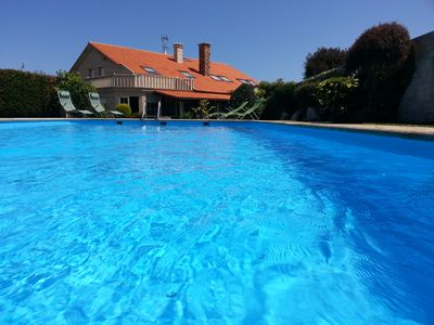 Photo for House with pool in Razo.