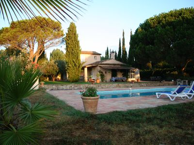 Photo for Villa de Charme in the heart of Grimaud, close to beach and local attractions