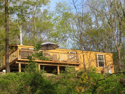 "Photo for Seneca Secrets - ""Watkins"" Cabin - Tranquil Getaway on 10 acres, with Beach!"