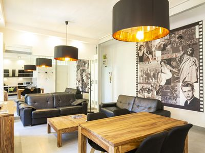 Photo for Beautiful one bedroom apartment with terrace in the heart of Cannes