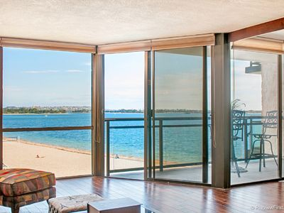 Photo for LUXURIOUS WATERFRONT CONDO ON THE SAND W/ BREATHTAKING PANORAMIC SAIL BAY VIEWS!