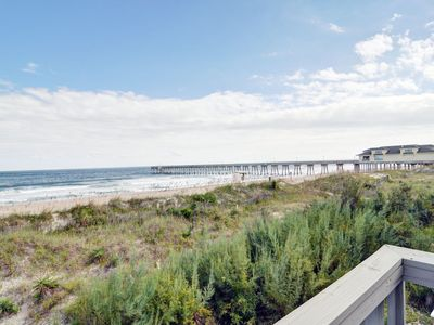 Photo for Eakins - Oceanfront Townhouse with wonderful decks and magnificent views