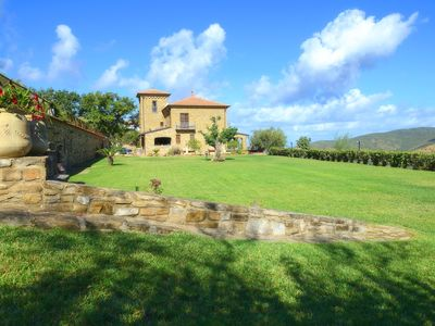 Photo for Typical Cilentano farmhouse with pool 3.5km from the sea: Ambra accommodation