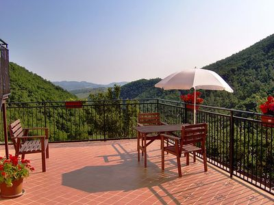Photo for 1BR Apartment Vacation Rental in Caiolite Pergola, Marche