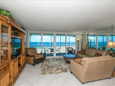 Photo for Breathtaking Views - Beachfront Condo - Completely Renovated