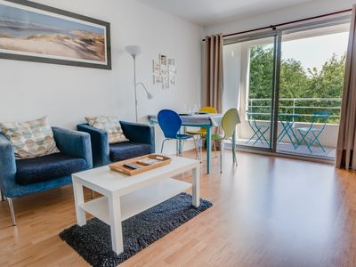 Photo for Quiet and comfortable seaside apartment - Private parking and bike rental