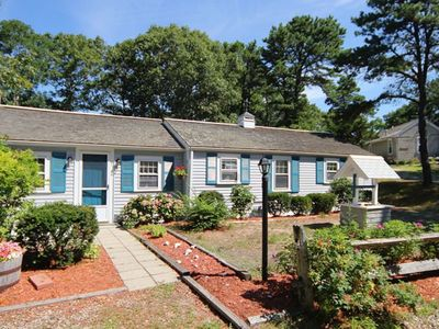 Photo for Harbor Village - Private deck with view of serene tidal basin, walk to beach