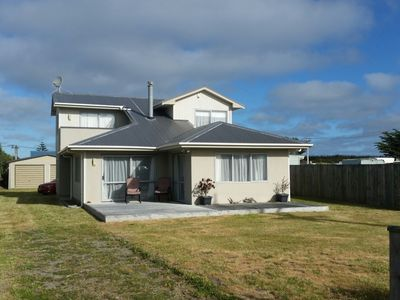 Photo for Modern two storey, fully fenced on flat section