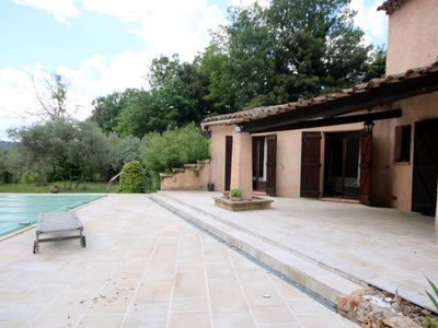 Photo for House with private pool near the beautiful village of Salernes