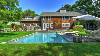Photo for New Listing: Warm & Sumptuous Home Near Village, 3-Mile Harbor w/Heated Pool, Game Room