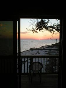 Sunset View Overlooking Gulf of Mexico