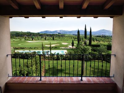 Photo for Il Ginepro - in the heart of a golf course close to spectacular beaches
