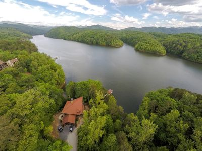 Photo for Fontana Lake Front Vacation Rental in the Smokies
