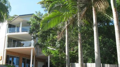 My Beautiful Place unit is situated on lower ground Beautiful garden views