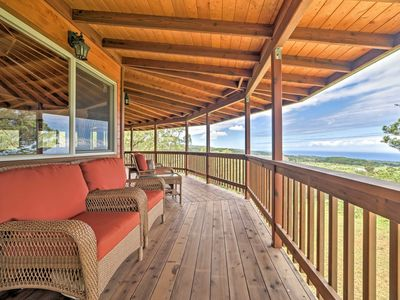Photo for Unique Honomu Home on 5 Acres w/Ocean & Mtn Views!