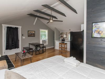 Photo for Upstairs Private Studio Apartment only 1 mile from Downtown Lafayett