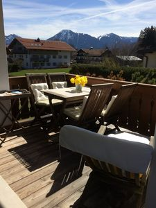 Photo for sunny dream apartment with south balcony + Wallberg view 4 min to center + lake promenade