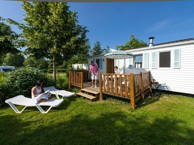 Photo for Camping Domaine de l'Etang **** - Basic Cottage 3 rooms 4/5 people