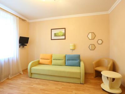 Photo for Cozy apartment in a central district-2 rooms 3 beds for 6 persons-child friendly