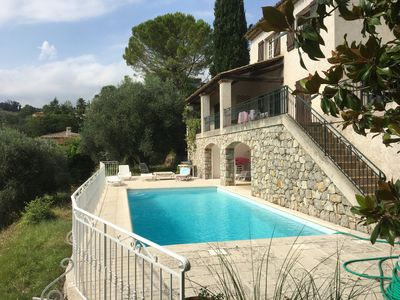 Photo for Provencal Villa With Large Garden And Private Pool