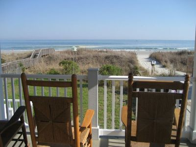 Photo for Oceanfront Traditional Family Beach House - Newly Renovated