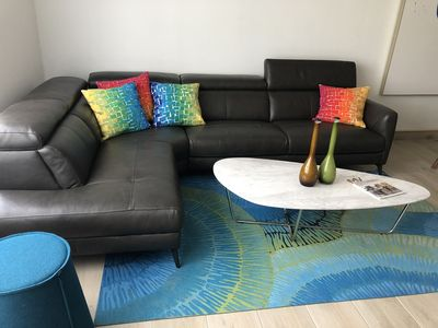 Photo for Beautiful apartment with walking distance to beach and pool.