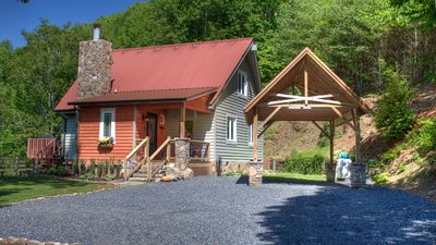 Photo for Amazing Views!! Two King Masters, Private. Hiking, not a small cabin