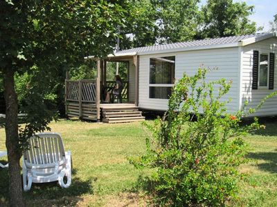 Photo for Camping Le Camp de Florence **** - Loggia Cottage 3 rooms 4/6 people