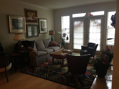 Photo for Beautiful two bedroom condo next to Marta (Atlanta's subway) Station, which