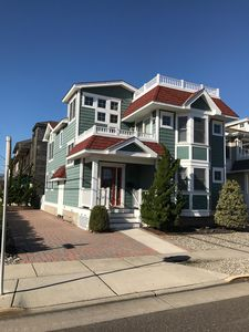 Photo for Stone Harbor's Ideal Location w/Rooftop Hot Tub- 2 blocks from Beach & Downtown