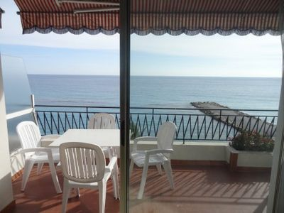 Photo for STUDIO WITH SENSATIONAL SEA VIEW - NEAR DOWNTOWN - MENTON ROQUEBRUNE