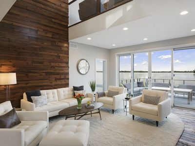 Photo for MINNESTAY**Lakefront Luxury - Lake Minnetonka *Contemporary | Modern | Lakeview