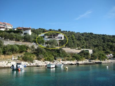 Photo for Apartment Miki  - Cove Kanica (Rogoznica), Riviera Sibenik, Croatia