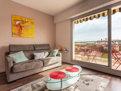 Photo for YOUCCA //GORRIA Studio apartment with terrace and parking space in Biarritz
