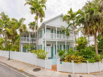 "Photo for ""BEACH HOUSE""~ Stunning 4B/4Ba Home with Pool in Perfect Old Town Location!"
