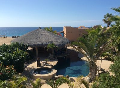 Tranquility and relaxation are the hallmarks of Baja Beach Getaway.