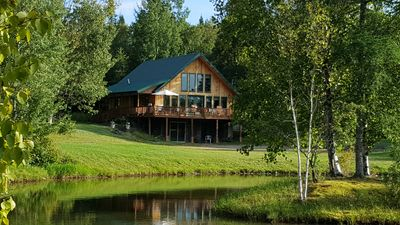 Photo for Chalet on Private Trout Pond; Summer Special See Description for Details