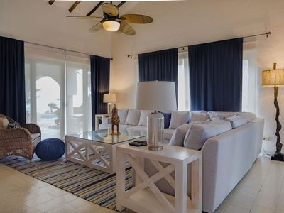 Photo for Beachfront Casa Stavola I 3 bedrooms/ 3 bathrooms. Private pool by the beach.